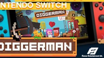 Diggerman выглядит как демейк SteamWorld Dig и выйдет на Switch через десять дней