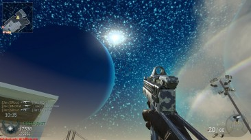 """Call of Duty: Black Ops """"skybox texture space+stars+moons"""""""