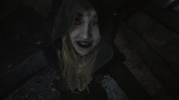 "Resident Evil: Village ""Вампирши без кровавых лиц"""