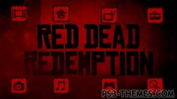 "Red Dead Redemption ""тема для ps3."""