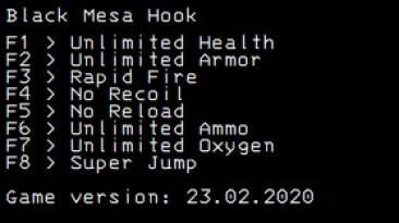Black Mesa: Трейнер/Trainer (+8) [Steam: 23.02.2020] {LIRW / GHL}