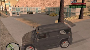 """Grand Theft Auto: San Andreas """"Hummer H2 NFS:U2 Tuning version"""""""