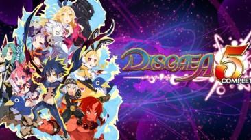 Очередной перенос Disgaea 5 Complete на ПК