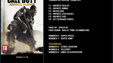 Call of Duty ~ Advanced Warfare: Трейнер/Trainer (+12) [1.0] {LinGon}