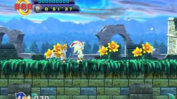 "Sonic the Hedgehog 4: Episode 2 ""Super Shadow the hedgehog mod"""