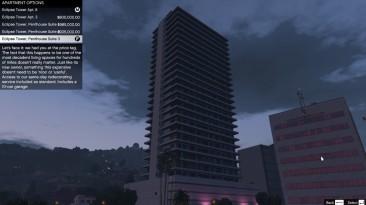 "Grand Theft Auto 5 ""Single Player Apartment 1.8"""
