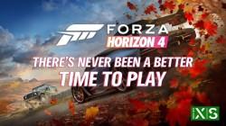 Новый трейлер Forza Horizon 4 с обновлением для Xbox Series X/S