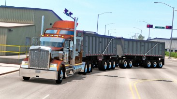 "American Truck Simulator ""Прицеп East Super Train в собственность"""