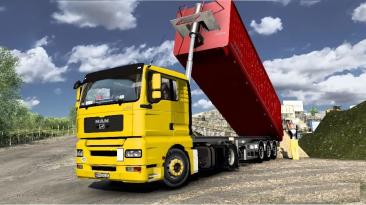 """Euro Truck Simulator 2 """"Грузовик Man Tga Low Cab RoStyle от 30.07.21 (v1.41.x)"""""""