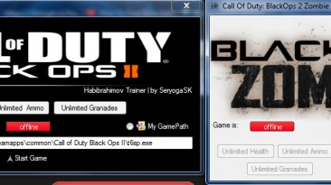 Call of Duty Black Ops 2: Трейнер/Trainer (+4) [Latest Steam] {SeryogaSK}