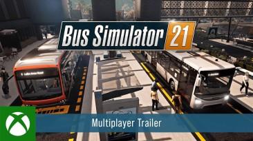 Новый трейлер и возможности мультиплеерного режима Bus Simulator 21