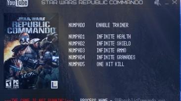 Star Wars: Republic Commando: Трейнер/Trainer (+5) [Latest Steam] {LIRW / GHL}