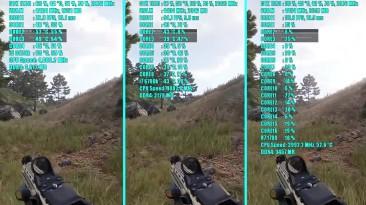 ARMA 3 Ryzen 7 1700 - 6700K i7 - i5 3570k и GTX 1070 OC | 1080p | Фреймрейт Сравнительное испытание