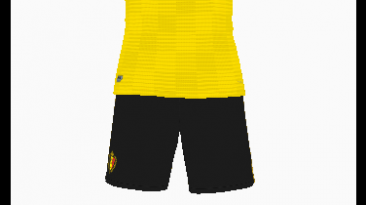"Pro Evolution Soccer 2018 ""Belgium's football guest uniform"""