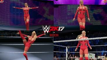 "WWE 2K17 ""Lana Survivor Series 20 Наряд (Лицевая анимация) WWE 2K19 Порт мод"""