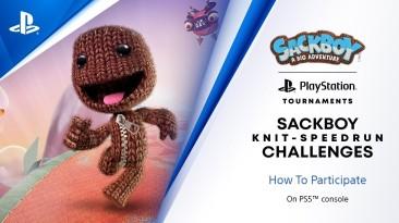 """Примите участие в соревнованиях """"Knitted Knight Trials"""" в Sackboy: A Big Adventure"""