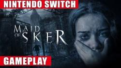 Видео игрового процесса Switch-версии Maid of Sker