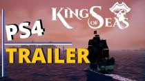 King of Seas - это пиратская RPG, которая выйдет на PS4, Xbox One, Switch и ПК позже в этом году