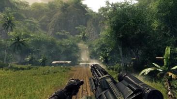 Crysis Warhead - стрельба slow motion