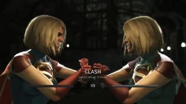 Injustice 2: Персонажи пробивают столкновение