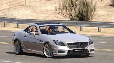 """Assetto Corsa """"2012 Mercedes-Benz SLK55 AMG for AC 1.13"""""""