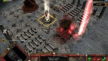 "Warhammer 40,000: Dawn Of War - Dark Crusade ""Карта - Inquisitor's Fortress"""