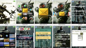 "Crysis 3 ""Sony Ericsson Theme 240x320"""