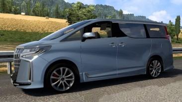 """Euro Truck Simulator 2 """"Toyota Alphard v0.0.1 (v1.39 - 1.40.x)"""""""