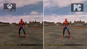 Spider-man : web of shadows - сравнения PC версии с консольными : XBOX 360 и WII U
