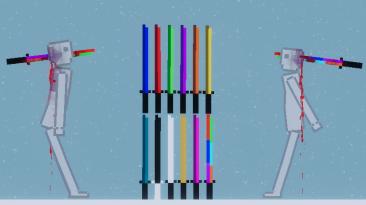 """People Playground """"Разноцветные мечи"""""""