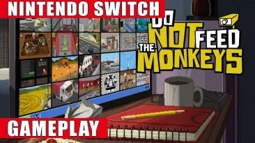 Геймплей Switch-версии Do Not Feed the Monkeys