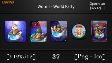 "Worms: World Party ""Иконки (ArtGamer)"""