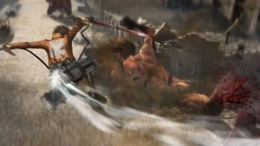Attack on Titan: геймплей с PS3, игра за титана и планы на дополнения