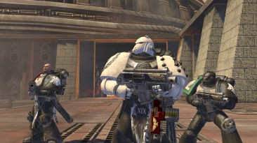 "Warhammer 40.000: Space Marine ""Skins Raven guard"""