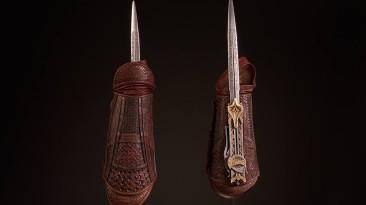 Костюмы и оружие из фильма Assassin's Creed