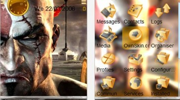 "God of War 3 ""Kratos Theme Nokia 240x320"""