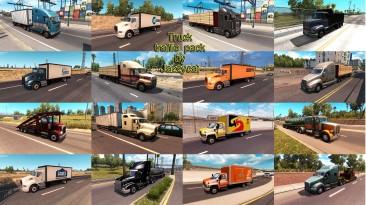 """American Truck Simulator """"Фикс для пака грузового траффика v1.7 под патч 1.29.х бета"""""""
