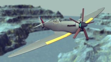 """Besiege """"Полностью механический самолет'"""