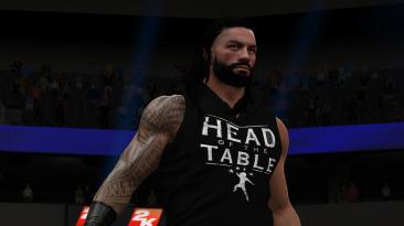"WWE 2K17 ""Roman Reigns SmackDown Live Hoodies 2021 Наряд (Лицевая анимация) WWE 2K19 Порт Мод"""