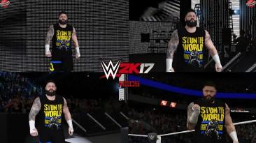 "WWE 2K17 ""Kevin Owens Stun The World Наряд (Лицевая анимация) WWE 2K19 Порт мод"""