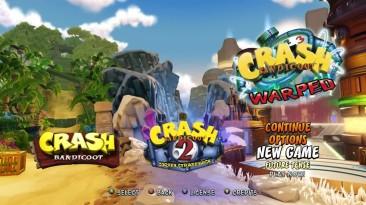 Пример русской озвучки Crash Bandicoot: N'Sane Trilogy