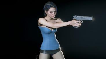 """Resident Evil 3 """"Сексуальная мини-юбка и топик для Джилл"""""""