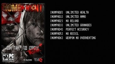 "Homefront: Ultimate Edition: Трейнер/Trainer (+7) [v.1.5.500001""PROPHET""] {LIRW / GHL}"