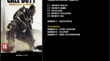 Call of Duty ~ Advanced Warfare: Трейнер/Trainer (+8) [1.0] {LinGon}