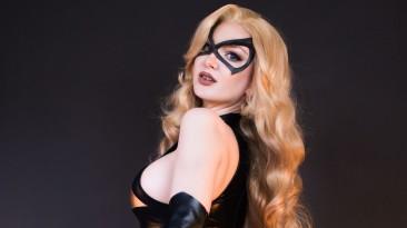 Косплей супергероя: классическая мисс Марвел