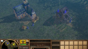 """Age Of Empires 3: The Asian Dynasties """"Карта - Black Forest 1.2"""""""