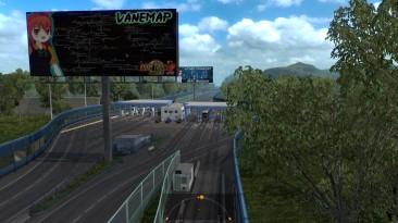 """Euro Truck Simulator 2 """"Карта Vanessa Pashmina v5.0 (v1.39.x, 1.40.x)"""""""