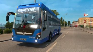 "Euro Truck Simulator 2 ""Hyundai Universe Noble + Новые скины v3.2 (1.40)"""