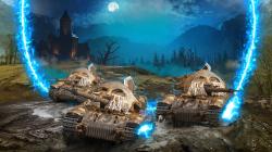 """В World of Tanks на консолях появился режим """"Пробуждение зла"""" с танками-монстрами"""