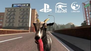"Goat Simulator ""Релизный трейлер на PS4 и PS3"""